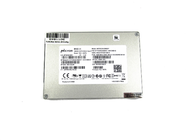 "Genuine HP 2.5"" 256GB Solid State Drive 745691-001"