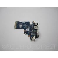 DELL 07TRKR LATITUDE E6530 USB VGA AUX BOARD  Genuine original