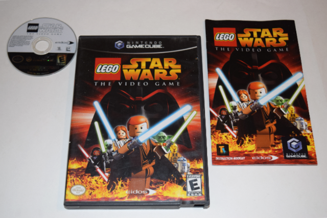 Lego Star Wars The Video Game Nintendo Gamecube Video Game Complete