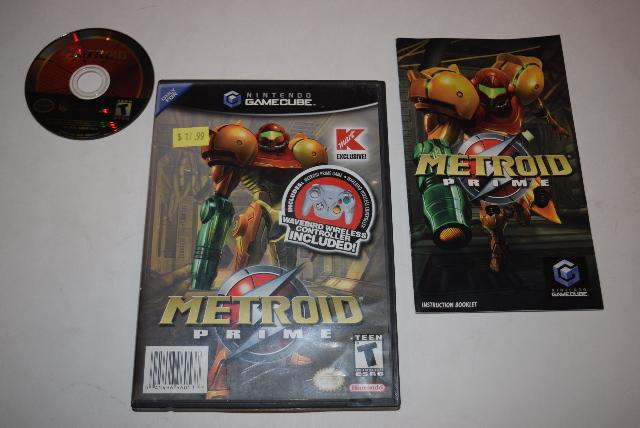 Metroid Prime Kmart Exclusive Version Nintendo GameCube Video Game