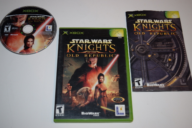 Star Wars Knights Of The Old Republic Microsoft Xbox Video