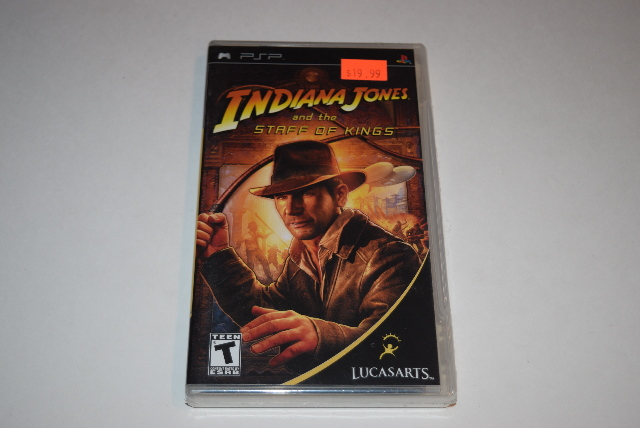 Indiana Jones and the Staff of Kings Sony Playstation PSP