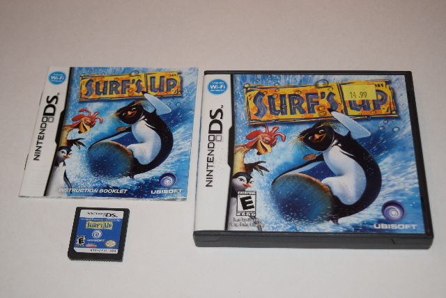 Surf's Up Nintendo DS Video Game Complete