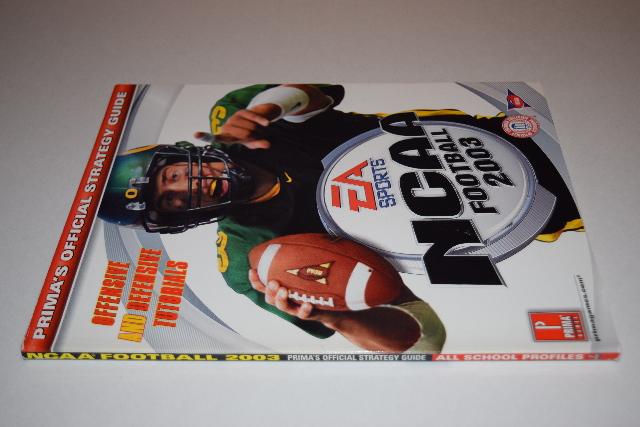 NCAA Football 2003 Strategy Guide Nintendo Gamecube ...
