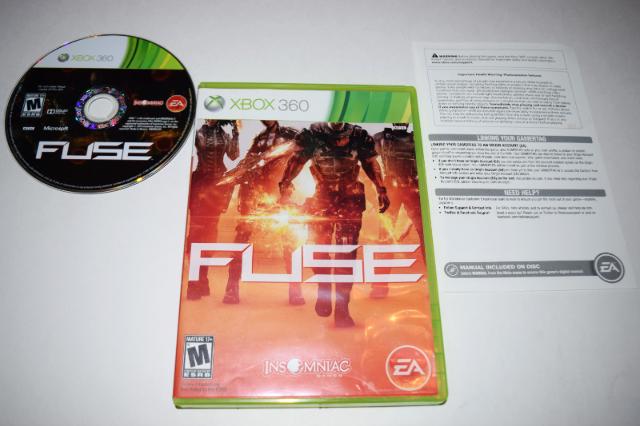Fuse Microsoft Xbox 360 Video Game Complete 14633196993 | eBay