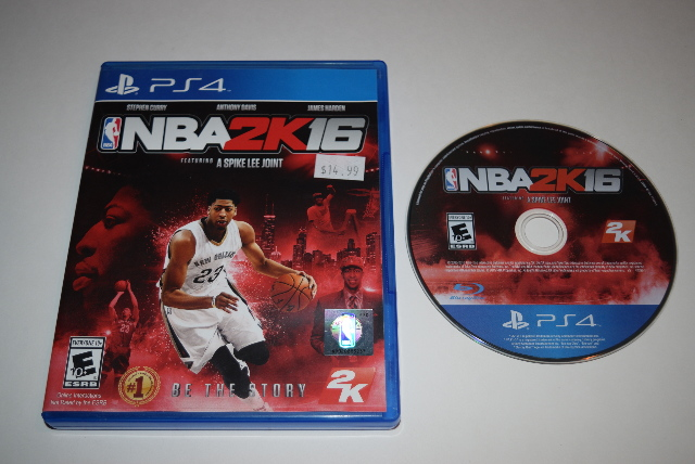 Details About Nba 2k16 Anthony Davis Cover Sony Playstation 4 Ps4 Video Game Complete