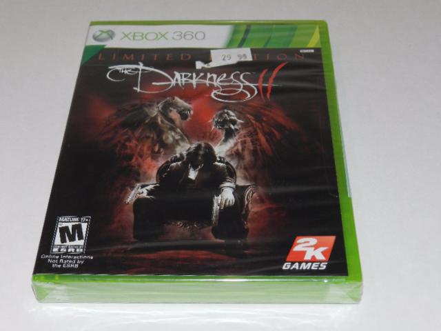 The darkness 2 ii ( xbox 360 ) new sealed   ebay.