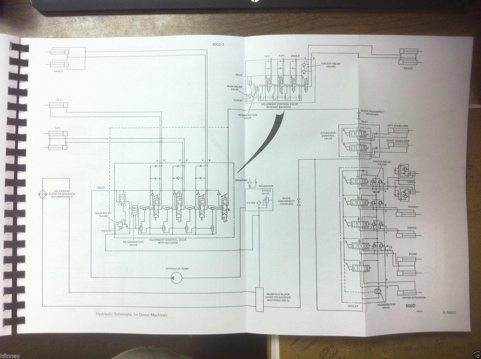Case 850d 855d Loader Dozer Crawler Service Shop Manual 2