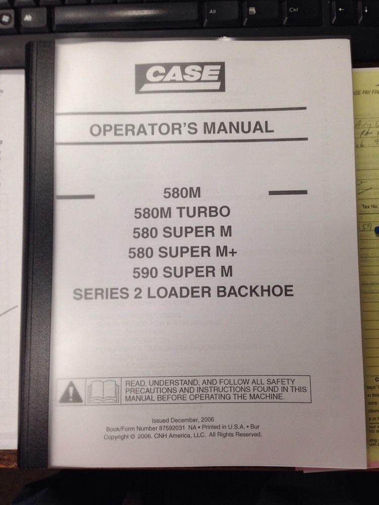 case 580m series 2 ii 590sm backhoe operation manual finney rh finneyparts us case 580 backhoe operators manual pdf case 580m backhoe operators manual pdf