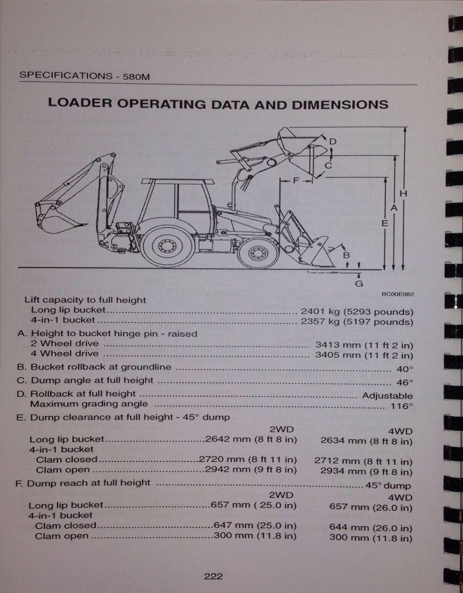 case 580m 580sm 590sm super m 590 m loader backhoe operator rh finneyparts us case 580 backhoe operators manual case 580m backhoe operators manual pdf