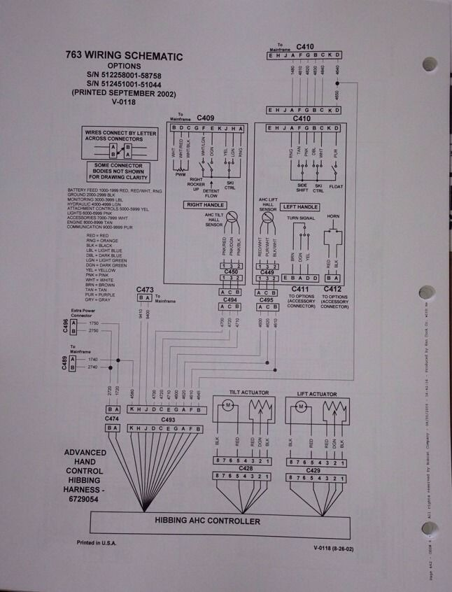 763 bobcat hydraulic schematic bobcat 763 763g service repair workshop manual book skid steer  bobcat 763 763g service repair workshop