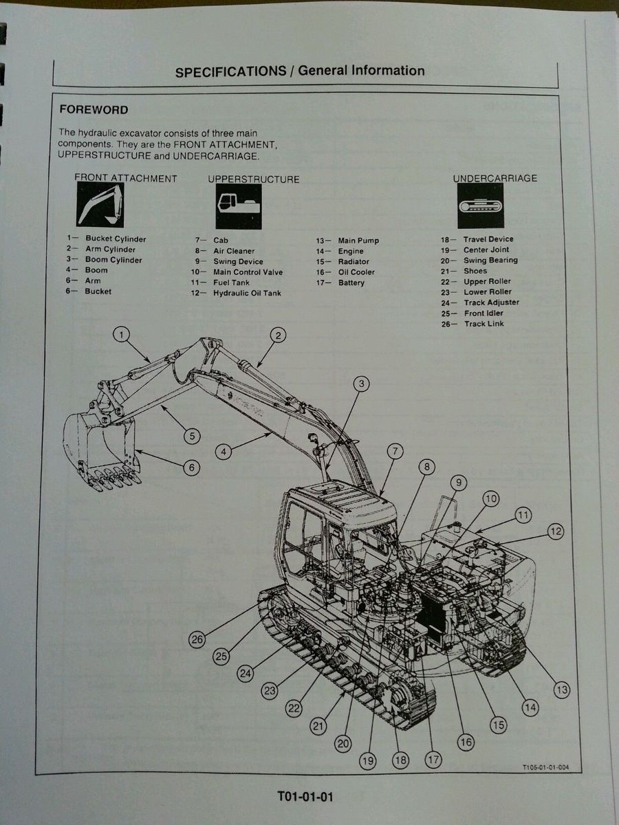 hitachi ex120 3 excavator service technical workshop manual shop rh finneyparts us hitachi ex15 workshop manual hitachi lx70 workshop manual