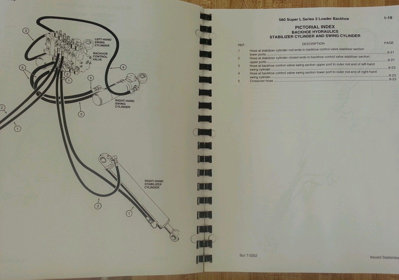 Case 580 Super L Series 2 Ii Loader Backhoe Parts Manual Book 580sl Kobelco Wiring Diagram