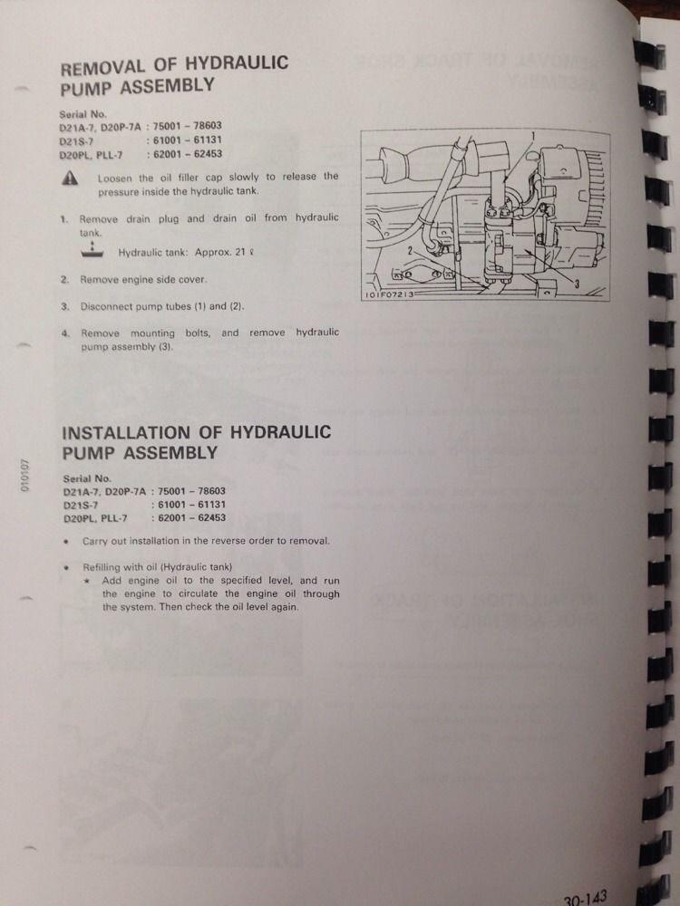 Komatsu Dozer D21 Wiring Diagram - Wiring Diagrams Dock