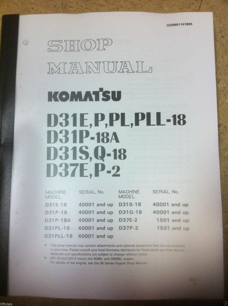 Komatsu D31p Wiring Diagram Schematic Diagrams D41p D31e 18 D31s D31q D37e 2 D37p Dozer Shop