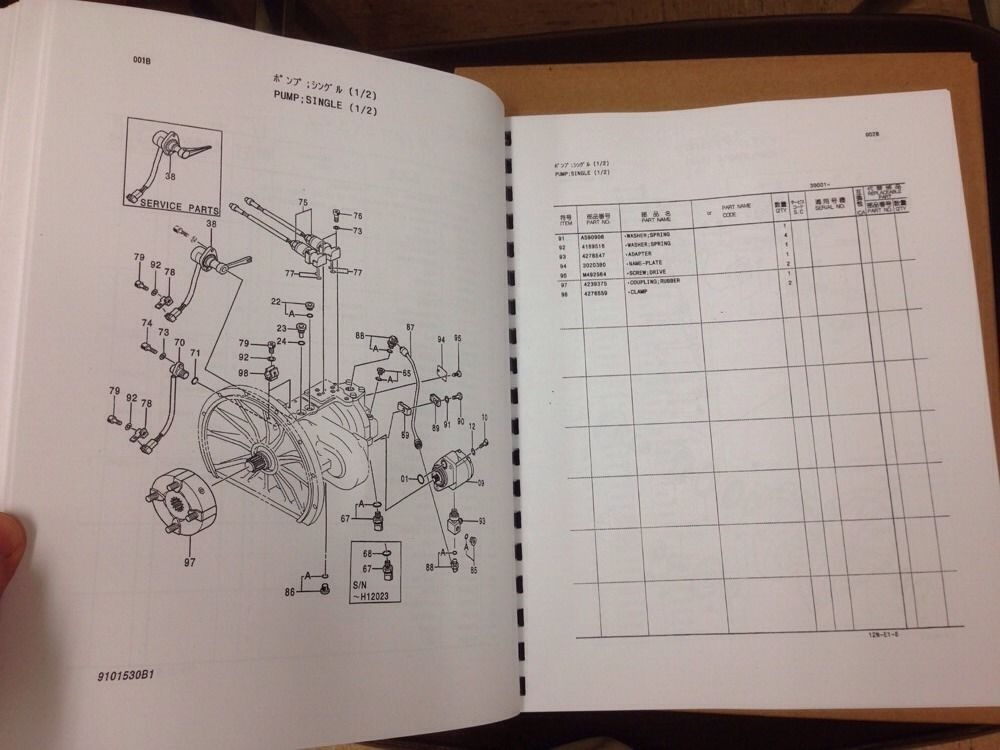 hitachi ex120 2 excavator parts and hydraulic component manual two rh finneyparts us hitachi excavator parts manual pdf Hitachi Repair Manual