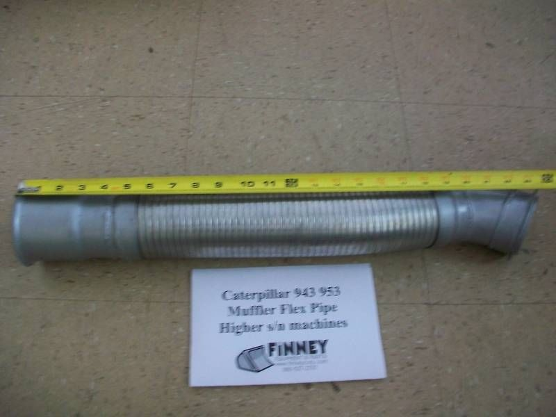 Flex Exhaust Pipe 9Y1201 fits Caterpillar 943 953