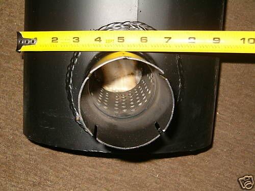Caterpillar 416 426 428 PLAIN Loader Backhoe Muffler Exhaust Cat 7W5194
