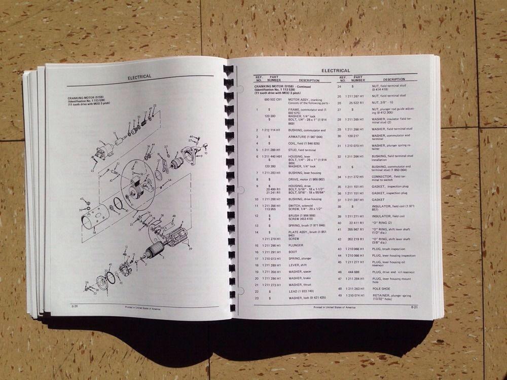 international dresser 510b 515b wheel loader chassis parts manual rh finneyparts us Dresser 510B Wheel Loaders Specifications Dresser 520B Specs