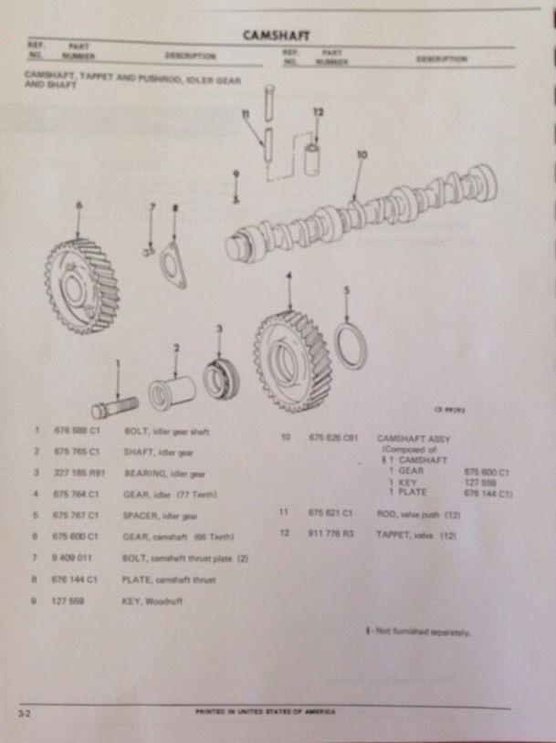 Details about  /Parts Manual International Harvester 175C Track Loader
