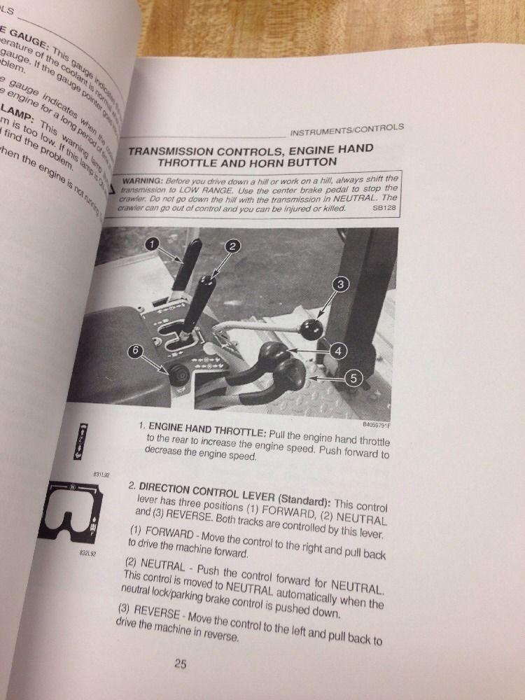 case 550g crawler dozer operation maintenance manual bur 9 26012 rh finneyparts us Case 550G Specifications Case 550 Dozer Crawler