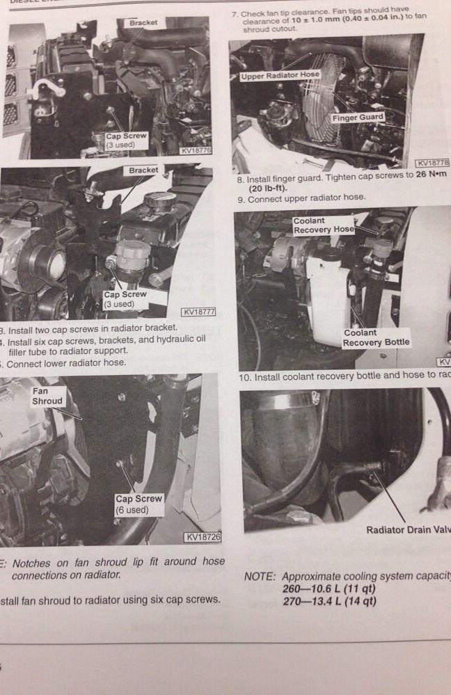 John Deere Skid Steer >> John Deere JD 260 270 Skid Steer Loader Service Technical Manual Catalog TM1780   Finney ...