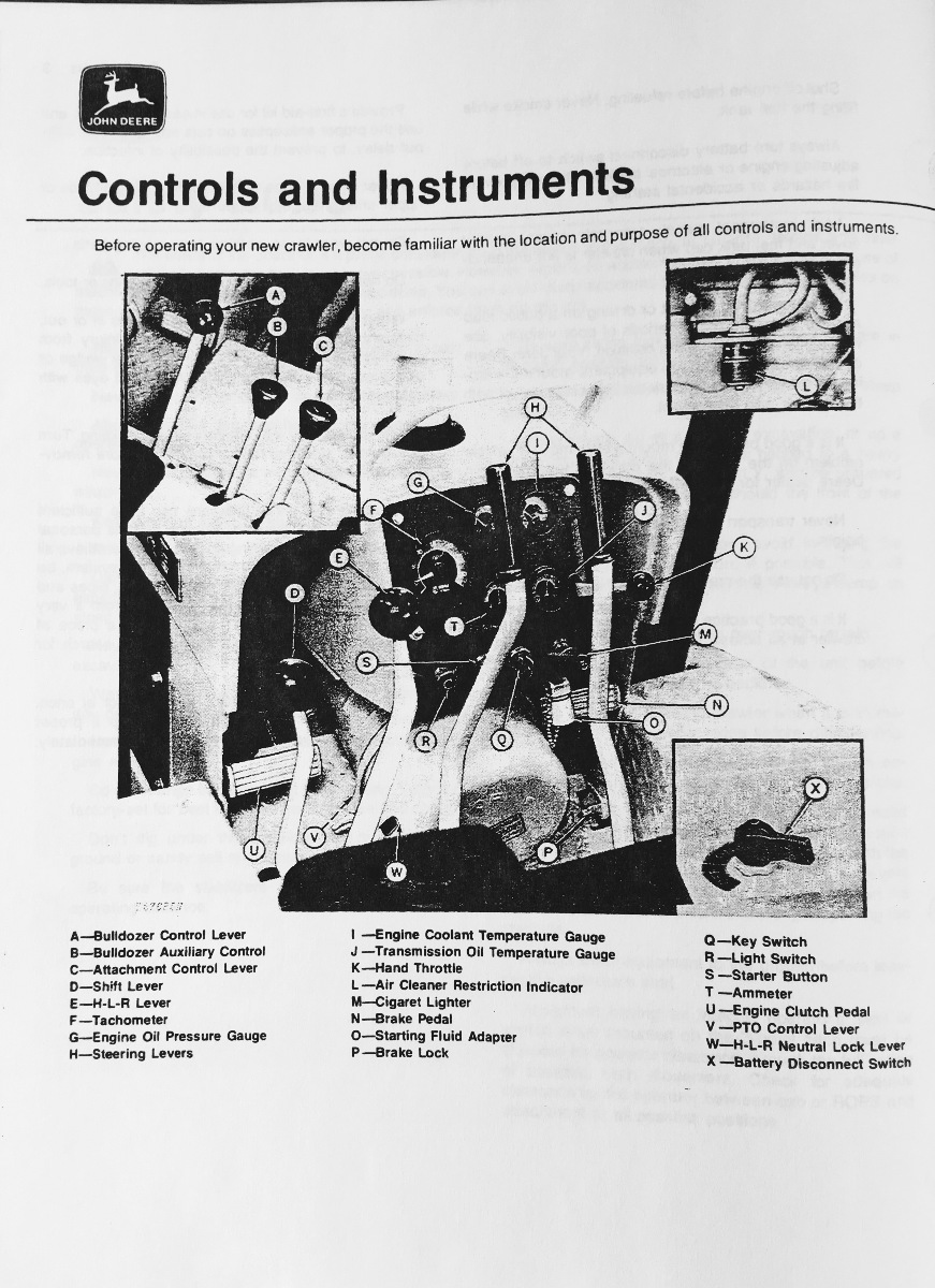 john deere jd 450c crawler bulldozer operator operation manual rh finneyparts us John Deere 450D Dozer John Deere 450C Serial Numbers