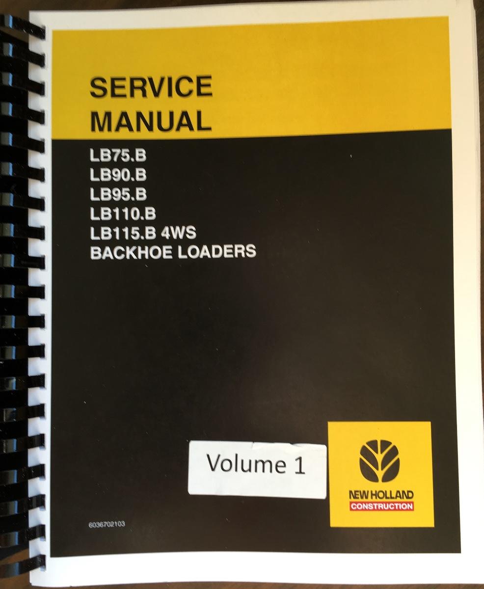 New Holland Lb75 Backhoe Service Manual Product User Guide Fuse Box Diagram Lb75b Lb90b Lb95b Lb110b Lb115b 4ws Loader Rh Finneyparts Us 2001