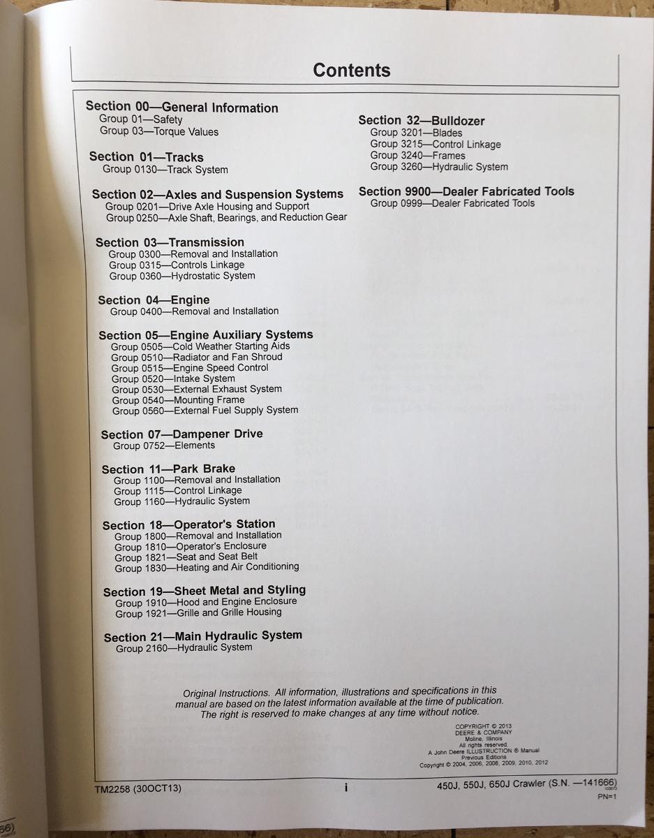 John Deere 450j 550j 650j Crawler Dozer Repair Manual Service Tm2258. John Deere 450j 550j 650j Crawler Dozer Repair Manual Service Tm2258 Early Serial. John Deere. John Deere 450j For The Hydraulic System Schematics At Scoala.co