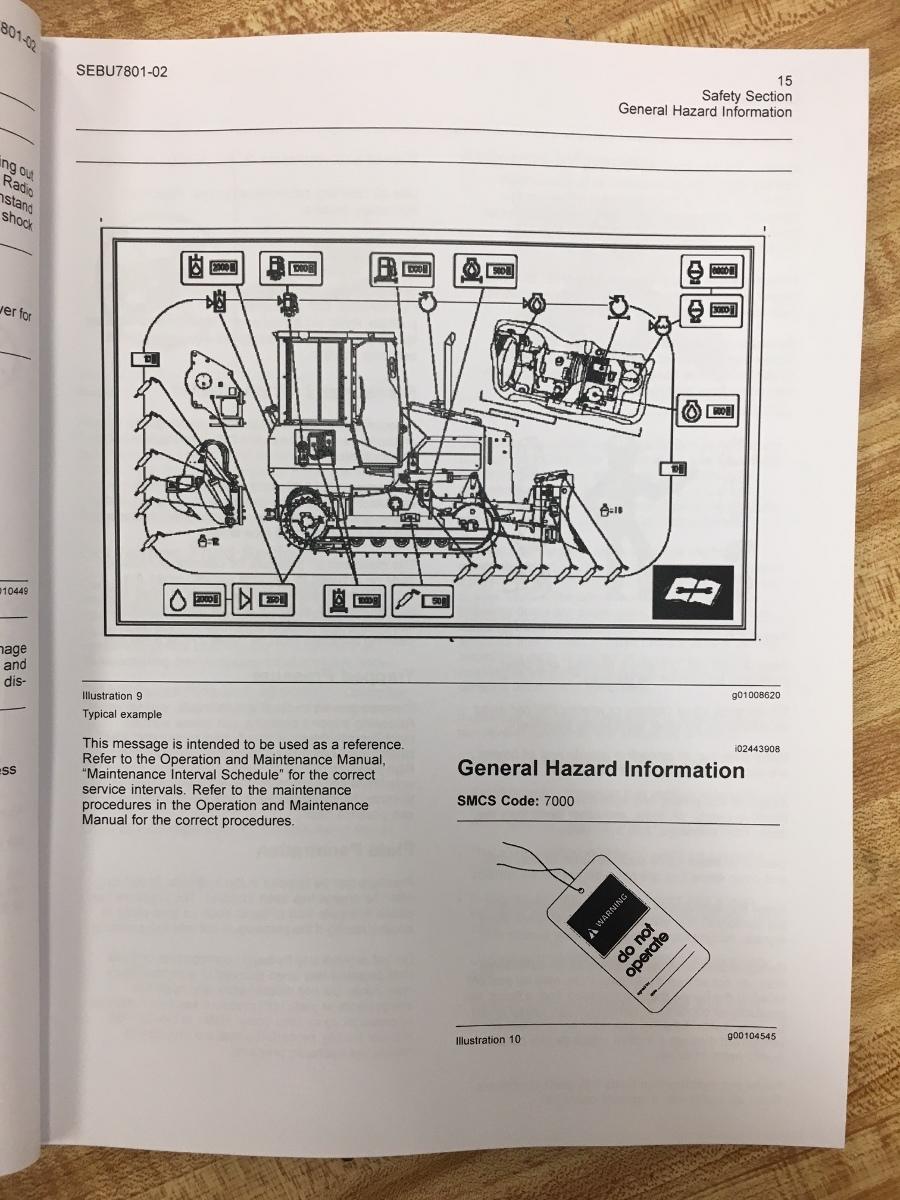 Ford Owners Manual >> CATERPILLAR D3G D4G D5G DOZER OPERATION MAINTENANCE MANUAL ...