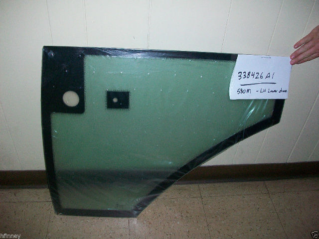 Case 580M 580SM 590SM 580 Super M series 1 and 2  Door glass Lower LEFT 338426A1