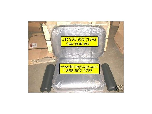 Caterpillar 933 955 12A Loader 4pc Seat Cushion set Cat