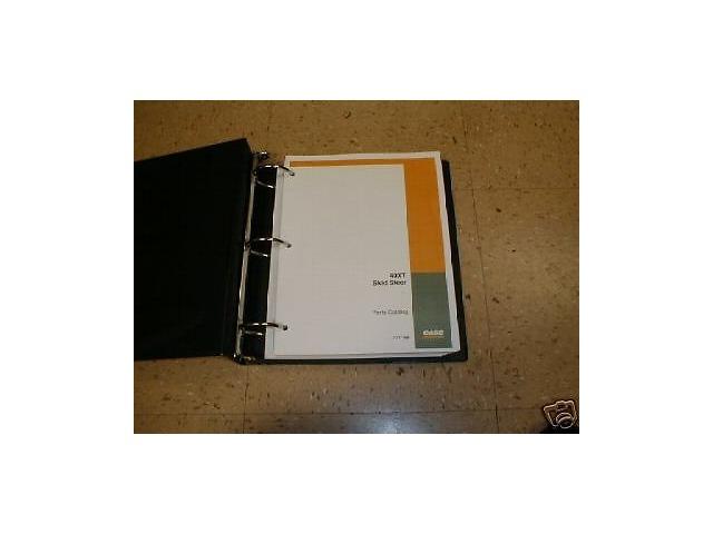 sd423452011 case 40xt skid steer loader parts manual book new case 40xt skid steer loader parts manual book new finney equipment