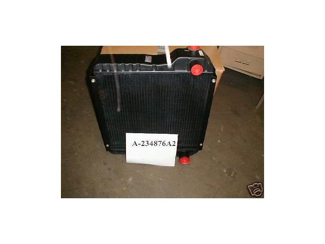 Case Backhoe 580 SUPER L 580L 590SL Radiator  234876A1 234876A2 Metal tank 580SL
