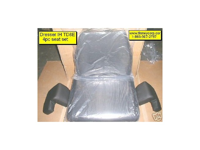 International Dresser TD7C TD7E 100E Dozer 4pc Seat Cushion set