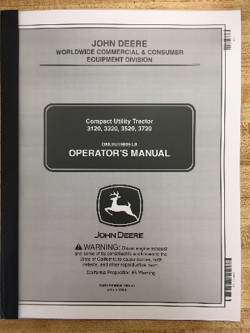 john deere jd 3120 3320 3520 3720 compact utility tractor operators rh finneyparts us John Deere 3120 Specifications john deere 3120 owners manual