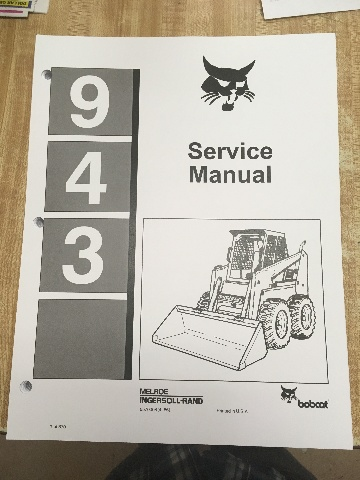 Bobcat 943 Loader Service Manual 6570008