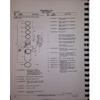 International IH D239 DT239 Diesel Engine Parts Book Manual TD7E TD8E 100E 125E