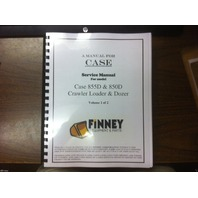 Case 850D 855D Loader Dozer Crawler Service Shop Manual 2 Volume 8-16520 BOOK