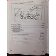 Case 580M  580SM 590SM Series 3 III 590SM Backhoe Operators Manual +