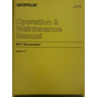 Cat Caterpillar 307 Excavator Operation Maintenance Manual Book SEBU6958 2PM257^