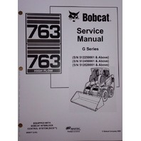 Bobcat 763 763G Service Repair workshop Manual Book Skid steer 6900977 shop
