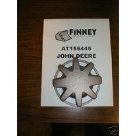 John Deere Fuel Cap T50842 Dozer Loader Backhoe Skidder 450C 450B 450D 450E 455E