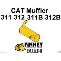 Caterpillar 312B 311B Hydraulic Excavator Muffler 5I7935 CAT