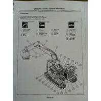 Hitachi EX120-3 Excavator Service Technical & WorkShop Manual Shop KM135E00