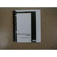 Case 580B 580CK Series B loader Backhoe Operators Manual 3 vol book maintenance