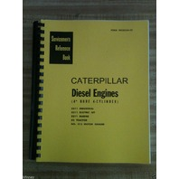 Cat Caterpillar D2 ENGINE SERVICE REPAIR manual book D311 212 motor grader