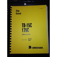 International TD15C Dozer Crawler Service Shop Manual ISS-1528-2