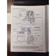 Bobcat 743B Operation Operator Maintenance Manual Early 6720613