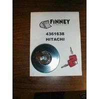John Deere 444G 344G Locking Fuel Cap with Keys AT17598
